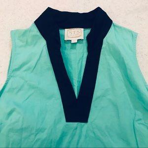 Sail to Sable Colorblock Tunic Dress